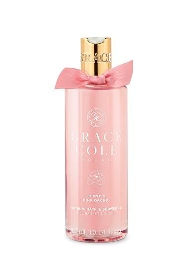 Grace Cole Grace Cole Peony & Pink Orchid  Duş Jeli 300 Ml Renksiz